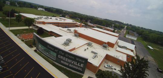 Cotterman & Company Institutional Roofing Application