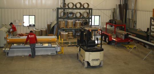 Cotterman & Company Sheet Metal Services