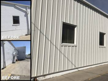 Cotterman Roofing Metal Siding