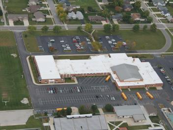 Minster High School - Cotterman & Company Roofing Application